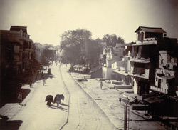 Street scene in Gwalior City